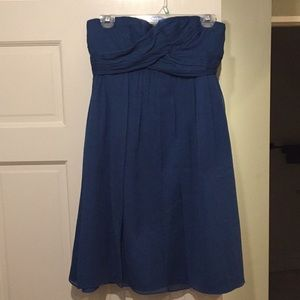 Blue JCrew Dress
